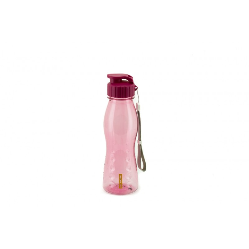 Neoflam Flip Top Hydration Bottle 700ml Pink