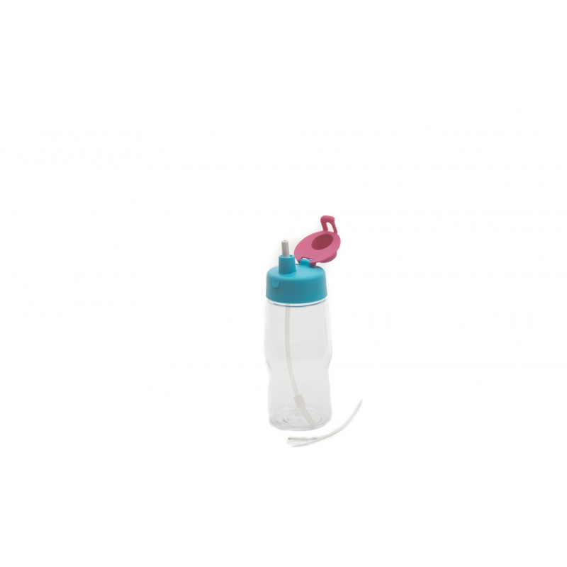 Neoflam Kids Hydration Bottle with Straw and Brush 380ml