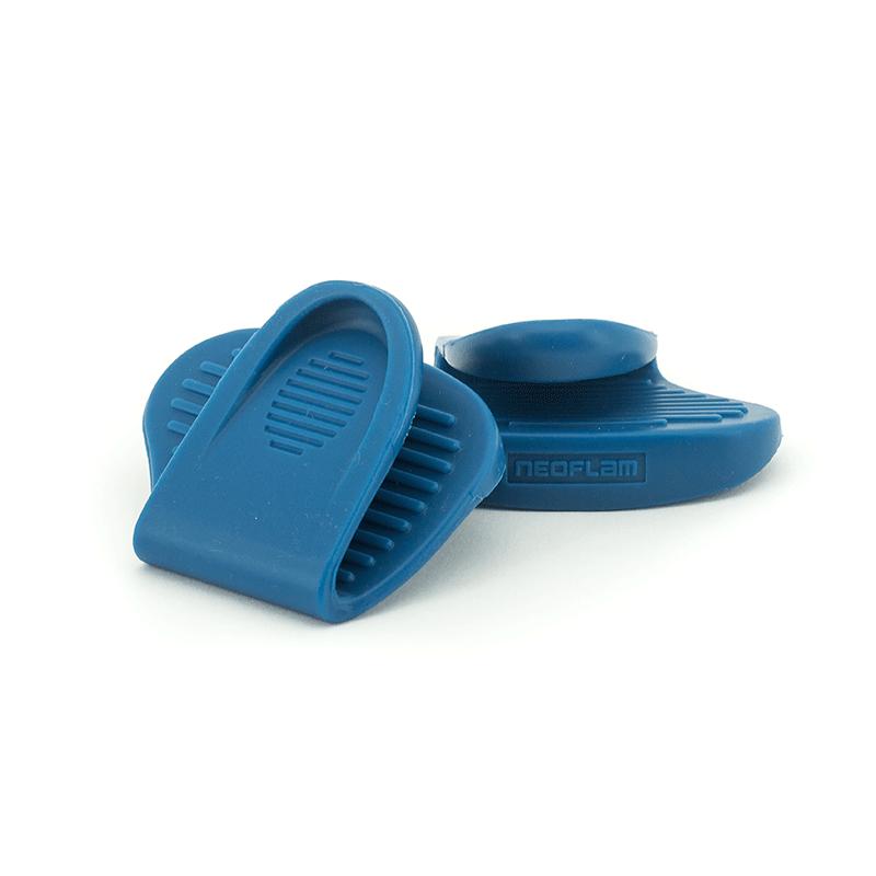 Neoflam Silicon Pot Grabber 2 Piece Set Blue