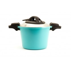 Neoflam Low pressure 26cm  deep casserole with Stainless Lid Induction Heat (6.2L)