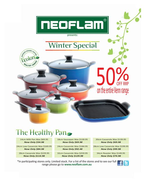 Neoflam's Winter Warmer Special!